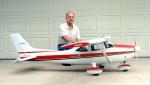Vorder Hinter Räder und Fahrwerk Zubehör Set für RC Flugzeug Cessna 182