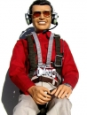 Zivil-Pliot James Pilotenfigur Hemd ROT