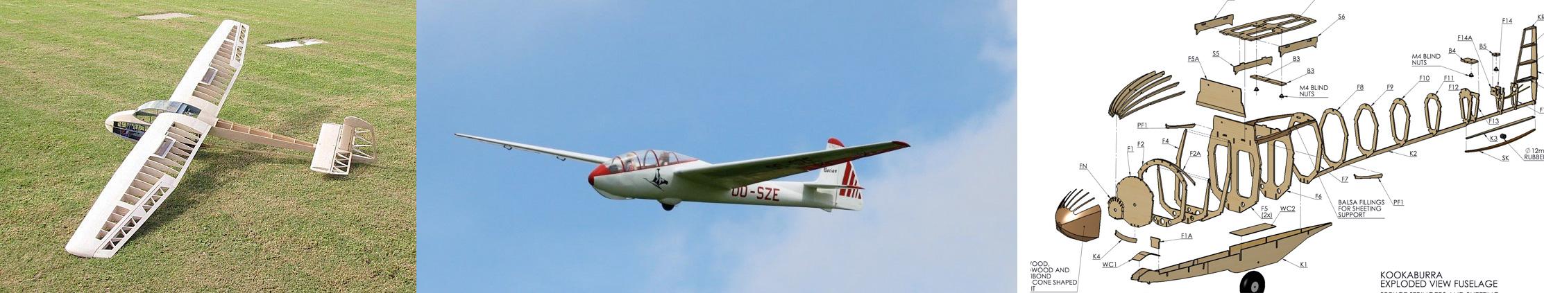 Bauplan Minimoa Modellbau Modellbauplan Segelflug